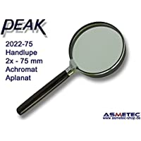 PEAK-Optics 2022-75 Handlupe, 2fach, 75 mm Linse