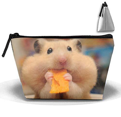 Animal Hamster Toiletry Bag-Portable Travel Organizer Cosmetic Make Up Bag Case for Women Men Shaving Kit for Vacation