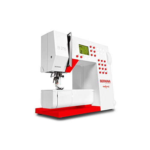 Bernina 215 Nähmaschine Special Edition, Simply Red