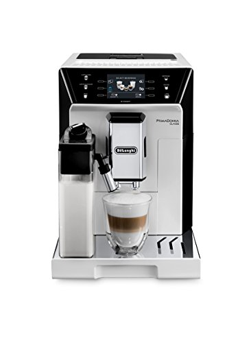 "De'Longhi PrimaDonna Class ECAM 556.55.W Kaffeevollautomat |3,5"" TFT-Farbdisplay | Integriertes..."