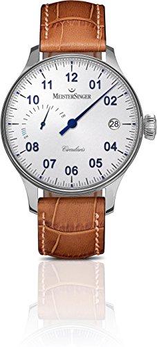 MeisterSinger CIRCULARIS POWER RESERVE Reloj elegante para hombres Diseño Clásico
