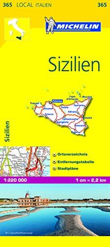 Produktbild Michelin Sizilien: Straßen- und Tourismuskarte 1:200.000 (MICHELIN Localkarten, Band 385)