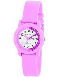 Cactus CAC-69-M05 - Reloj de pulsera niños, Plástico, color Rosa