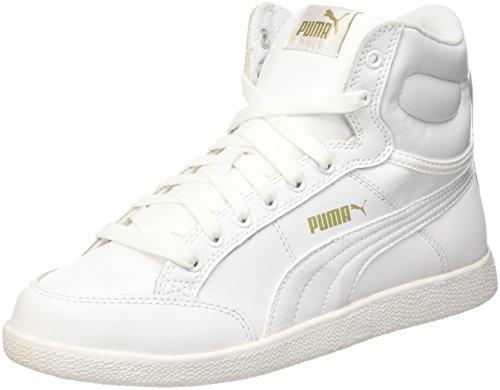 Puma Damen Ikaz Mid Classic Bianco/Bianco