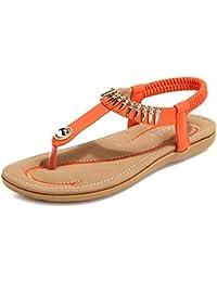 Perfect Me Damen Frauen Zehensteg Flip Flop Thong Sandalen