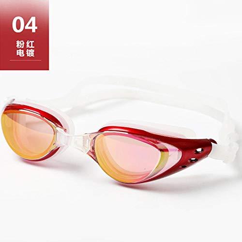 ChaoLiu Schwimmbrille, Antibeschlag, horizontales Licht, großer Rahmen, professionelle Schutzbrille für Erwachsene für Männer und Frauen