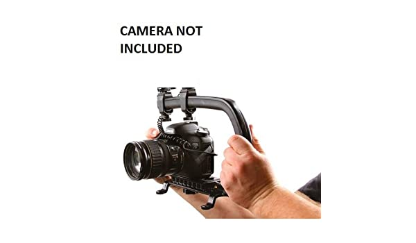 Pro Video Stabilizing Handle Grip for Sony SLT-A99 Vertical Shoe Mount Stabilizer Handle