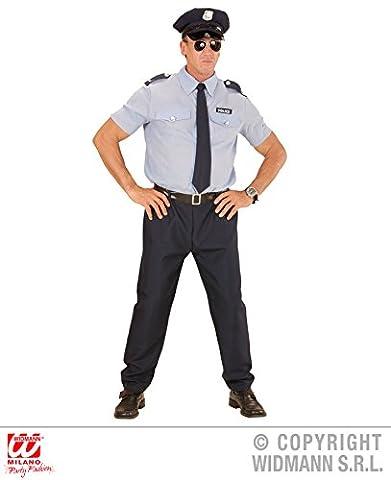 KOSTÜM - POLIZIST - Größe 54 (XL), Berufe Beruf Uniform Policeman Polizei New York Cop NYPD
