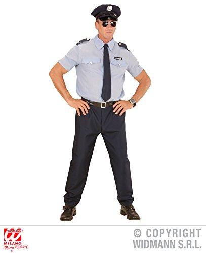KOSTÜM - POLIZIST - Größe 52 (L), Berufe Beruf Uniform Policeman Polizei New York Cop NYPD