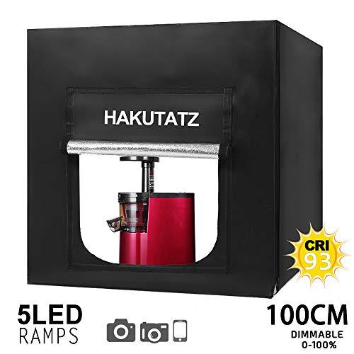 Epower Studio 100x100x100cm Lichtwürfel LED Profi Fotografie Lichtzelt