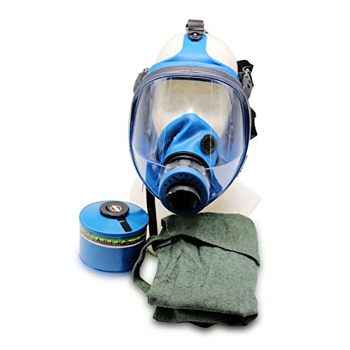OldShop Gasmaske SPACIANI Set - Sowjetische Militär Gasmaske Replica Sammlerstück Set W/ Maske, Tasche, Filter - authentischer Look & Verschiedene Größen erhältlichS