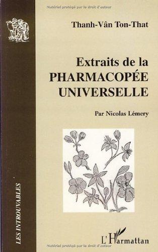 Extraits de la pharmacopée universelle par Thanh-Vân Tôn-Thât