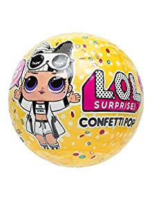 L.O.L. Surprise! Confetti Pop con Mini Doll a Sorpresa, 9 Livelli, Modelli Assortiti