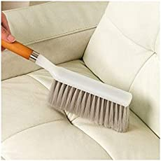 Woogor Long Bristle Cleaning Brush for Household Upholstery (Random Colors)