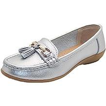Mocasines planos Jo & Joe, zapatos de tacón bajo informales, cómodos, para mujer