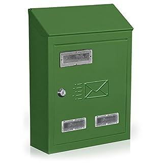 Briefkasten Post Briefkasten Modell City 24x 9x H35cm 731B grün
