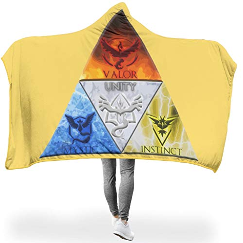 CATNEZA Zelda PrintedHome Tapisserie Hooded Blanket Bequemes Wohndecke TV Mikrofaserdecke Für Kinder White 150x200cm