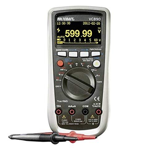 VOLTCRAFT VC890 OLED Hand-Multimeter digital OLED-Display, Datenlogger CAT III 1000 V, CAT IV 600 V Anzeige (Counts): 60