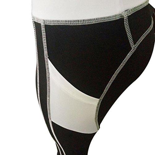 Homebaby A Forma Di Cuore Yoga Leggings Sportivi Donna - Eleganti Leggings Sport Opaco Fitness Spandex Palestra Pantaloni Leggins Push Up- Pantaloni Tuta Donna Nero