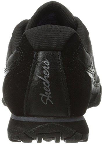 Skechers Bikers Sistematici, Damen Sneakers Nere