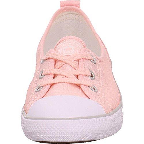 Converse Chucks Ballerina 551656C Gris Dainty All Star Ballet dentelle Souris Blanc Noir 2690°vapor pink/white/mous