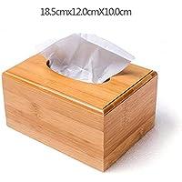 Dudu Rechteckige Bambuspapiere Handtuchspeicher, Creative Home Storage Box, Office Living Room Storage Box,Increasedversion
