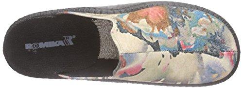 Romika - Mokasso 117, Pantofole Donna Multicolore (Mehrfarbig (multicolor 900))
