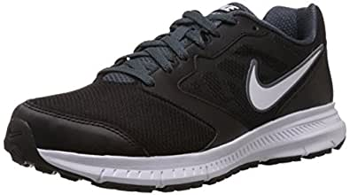 Nike Men's Downshifter 6 Msl Black,White,Dark Magnet Grey Running Shoes - 11 UK/India (46 EU)(12 US)