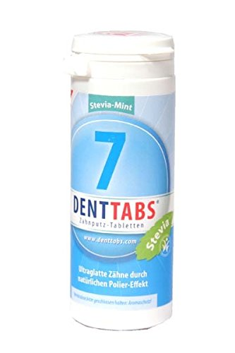 6 Tabletten 125 Tab (DENTTABS Zahnputztabletten minzfrisch, 380 St)
