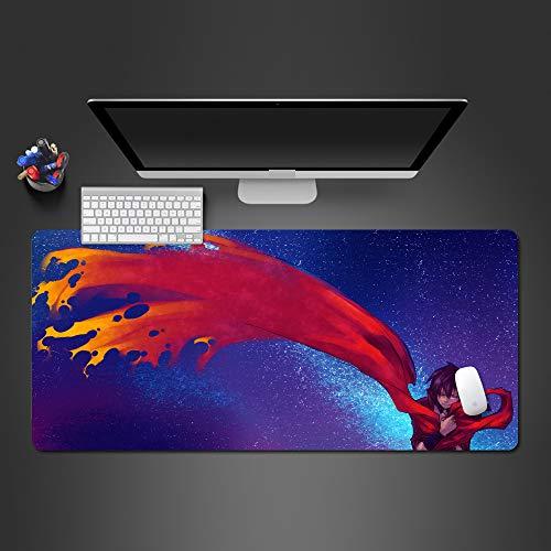Heiße Kostüm Alien - Heißes kühles Qualitätsmausunterlage der Farbenanimation Qualitätsgummiauflage große nähende Laptopauflage 700X300X2MM