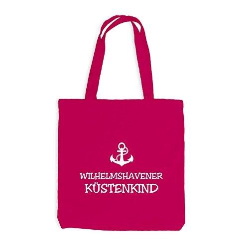 Jutebag - Wilhelmshaven Cohen Bambino - Ancoraggio Wilhelmshaven Nave Ancora Marittima Rosa