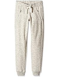 New Look 915 Cream Marl Zip, Pantalones de Deporte para Niñas