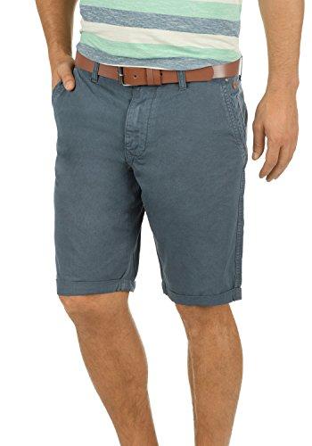 BLEND Clemens Herren Chino-Shorts kurze Hose Business-Shorts aus 100% Baumwolle India Ink (70151)