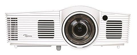 Optoma GT1080Darbee Kurzdistanz DLP-Projektor (1080p Beamer, 1920 x 1080 Pixel, 3000 ANSI Lumen, Full HD, HDMI, MHL, SVGA) weiß