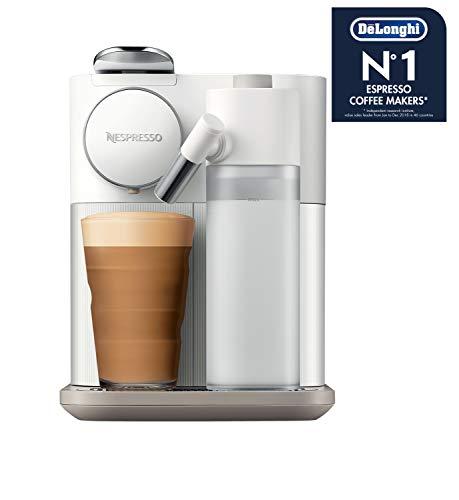 De'Longhi Nespresso Gran Lattissima EN650.W Kapselmaschine, Kaffeemaschine mit Milchaufschäumer, für 6 Kaffee-Milchgetränke per Fingertip, 36,7 x 20,3 x 27,6 cm, weiß