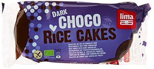 Lima Bio Galettes de Riz Chocolat Noir 100 g