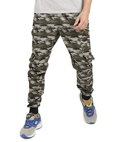 VERSATYL Men's Camouflage Cotton Track Pant