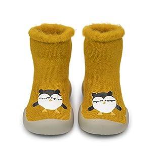 Adorel Zapatos Antideslizantes Calcetines Invierno para Bebé 15