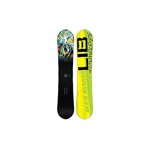 libtech–Tabla de snowboard Lib Tech Sk8Banana Btx–hombre–negro, negro
