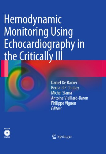 Hemodynamic Monitoring Using Echocardiography in the Critically Ill (English Edition)