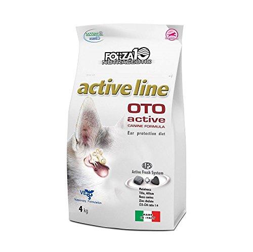 Artikelbild: Forza10 Trockenfutter für Hunde mit Ohrenproblemen, 1er Pack (1 x 4 kg)