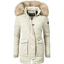 on sale 705ee 53961 parka donna - Bianco - Amazon.it