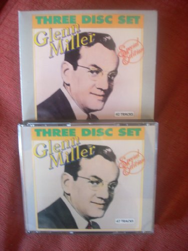GLENN MILLER. SPECIAL EDITION. 1988 3 DISC CD BOXSET. 42 TRACKS.