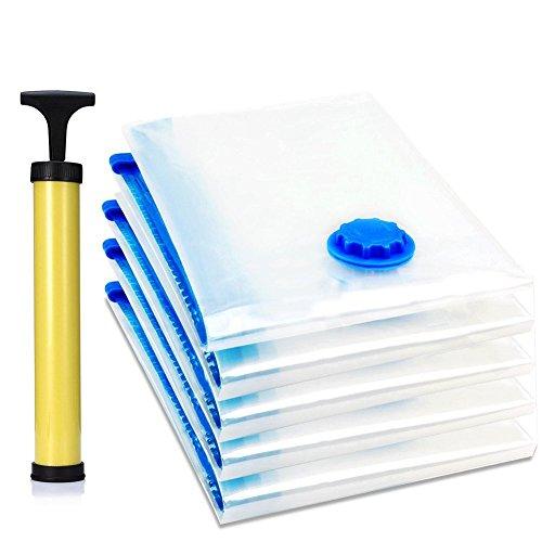 Switty Vakuum-Aufbewahrungsbeutel für Bettdecken, Kleidung, Bettwäsche