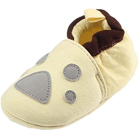 LvRao Scarpine per Ragazzi e Ragazze Bambino 1 - 12 Mesi Scarpe Calde di Cotone Comode di Invernali
