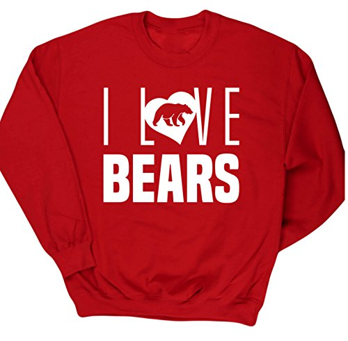 hippowarehouse-i-love-bears-kids-unisex-jumper-sweatshirt-pullover