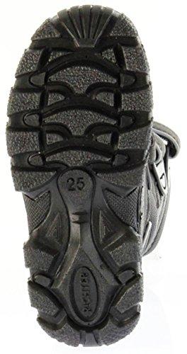 Richter Kinder Winter Stiefel Boots schwarz SympaTex Warm Jungen 7951-831-9902 black steel Davos WMS Schwarz