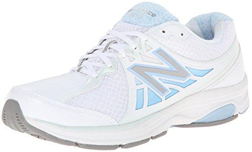 New Balance Women's 847v2 Walking Shoe,Black,US 6.5 2E white
