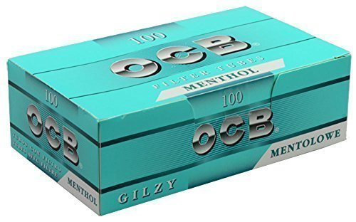 500 (5x100) OCB Mentolo (Guaine, Guaina-filtro, Sigarette vuote)