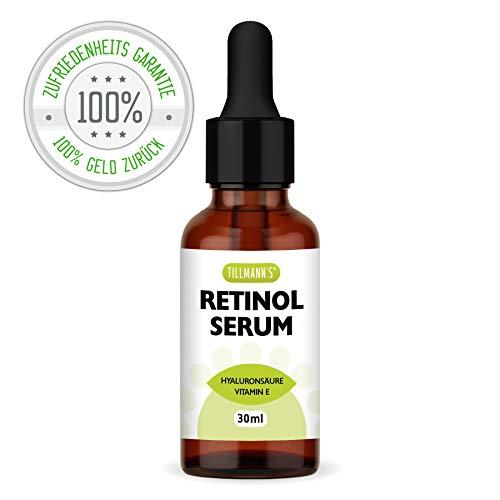 Retinol Serum | Enthält Vitamin E & Hyaluronsäure | Pflege für Ihre Haut, Gesicht, Dekolleté &...